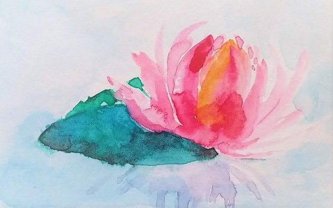 watercolor_lily
