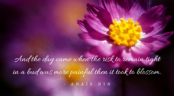 and the day came quote centered